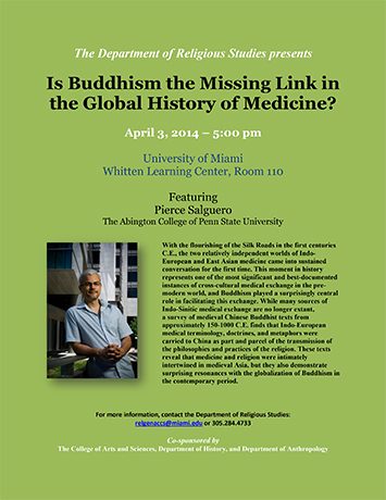 Is Buddhism the Missing Link in the Global History of Medicine