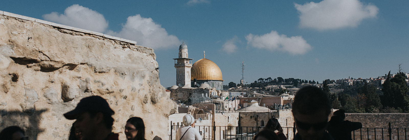 View of the Dome of the Rock